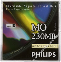 Philips 230 MB MO Disk R/W