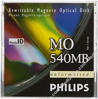 Philips 540 MB MO Disk R/W
