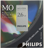 Philips 2.6 GB MO Disk WORM