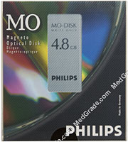 Philips 4.8 GB MO Disk WORM