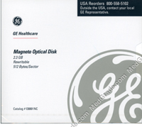 GE Healthcare 2.3 GB MO Disk R/W