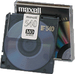 Maxell 540 MB MO Disk R/W