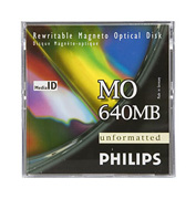 Philips 640 MB MO Disk R/W