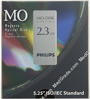 Philips 2.3 GB MO Disk R/W