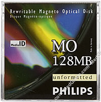 Philips 128 MB MO Disk R/W