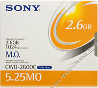 Sony 2.6 GB MO Disk WORM