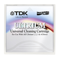 TDK LTO Ultrium Cleaning Cartridge Tape