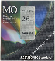 Philips 2.6 GB MO Disk R/W