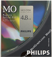 Philips 4.8 GB MO Disk R/W